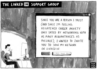 the linkedin support group