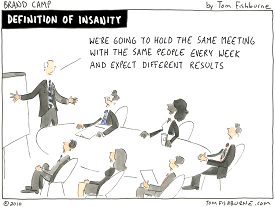 Meetings Are A Waste Of Time Quotes: Tom Fishburne: Marketoonist