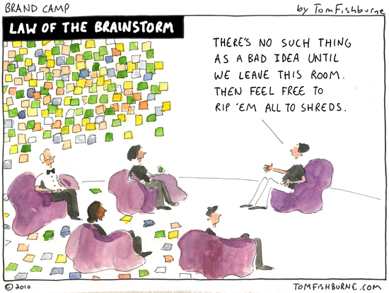 how to run a creative brainstorm