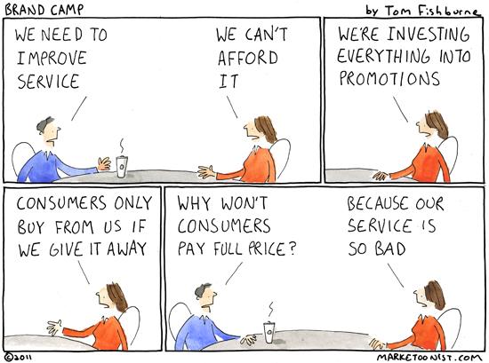 improving service