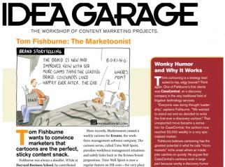 featured in magazine