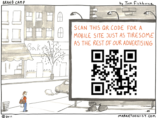 advertising with QR codes