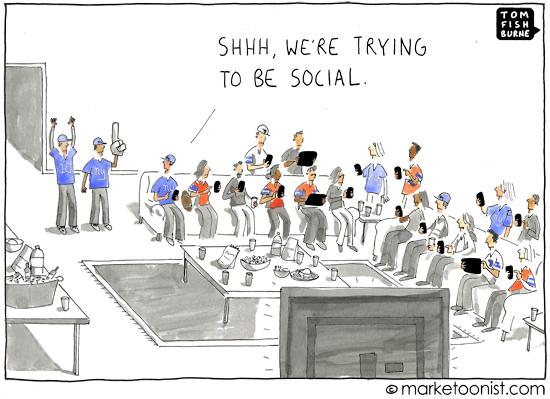 the social super bowl