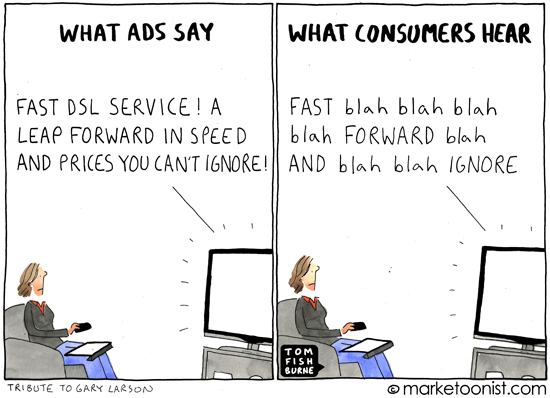 what ads say