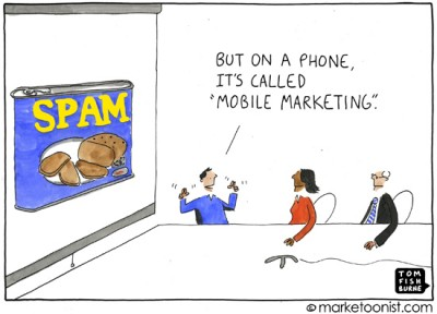 """mobile marketing"" cartoon"