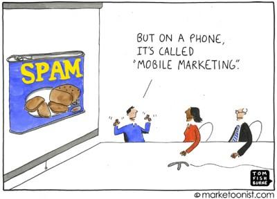"""mobile marketing"" cartoon"