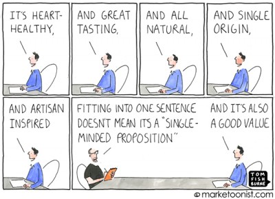"""single minded proposition"" cartoon"