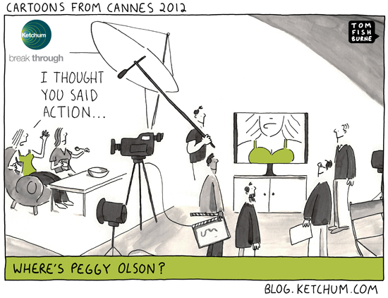 cartoons from Cannes 2012