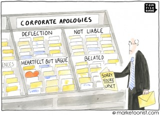 """corporate apologies"" cartoon"