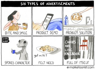 """5 Types of Advertisements"""
