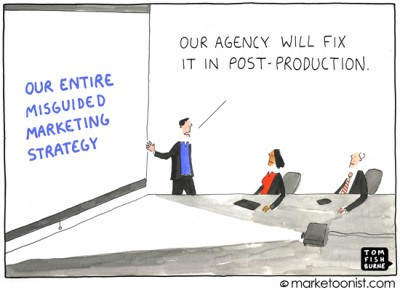 """Marketing Strategy"" cartoon"