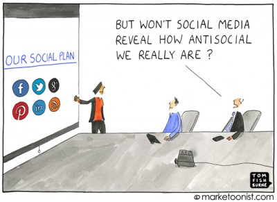 """our social plan"" cartoon"