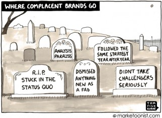 where complacent brands go