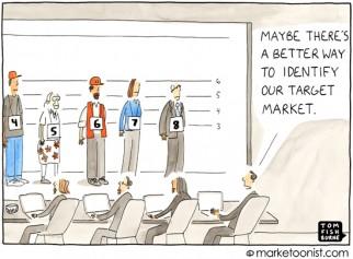 """Target Market"" cartoon"