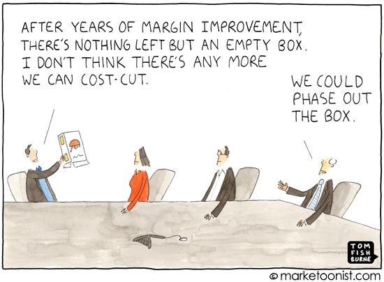 Cost Cutting Cartoon Tom Fishburne Marketoonist