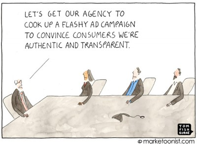 Authenticity and Transparency