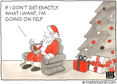 """Yelp"" cartoon"