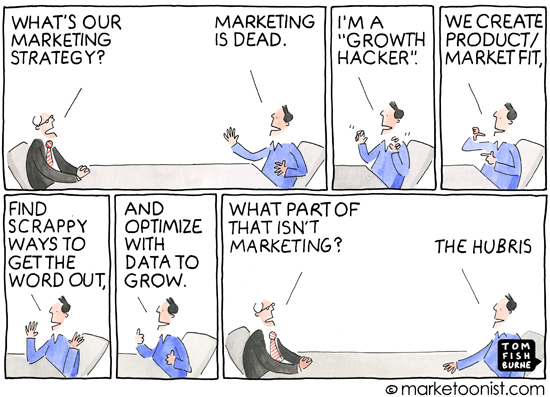 """growth hacking"" cartoon"