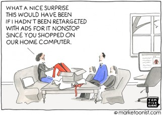 """Ad Retargeting"" cartoon"
