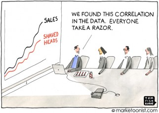 """Big Data Analytics"" cartoon"