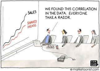 """Big Data Analytics"" cartoon"
