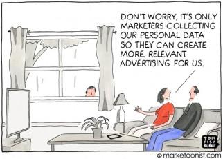 """Personal Data"" cartoon"