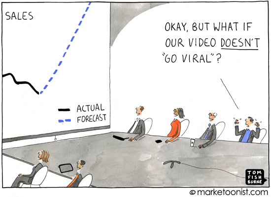 """Go Viral"" cartoon"