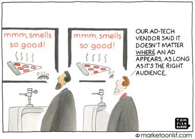 """Programmatic Advertising"" cartoon"