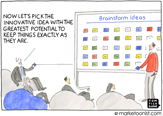 """Brainstorm"" cartoon"