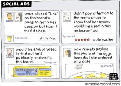 """social ads"" cartoon"