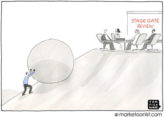 """""""Stage Gate"""" cartoon"""