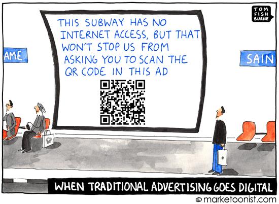 """go digital"" cartoon"
