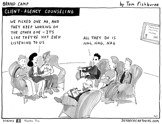 client agency counseling