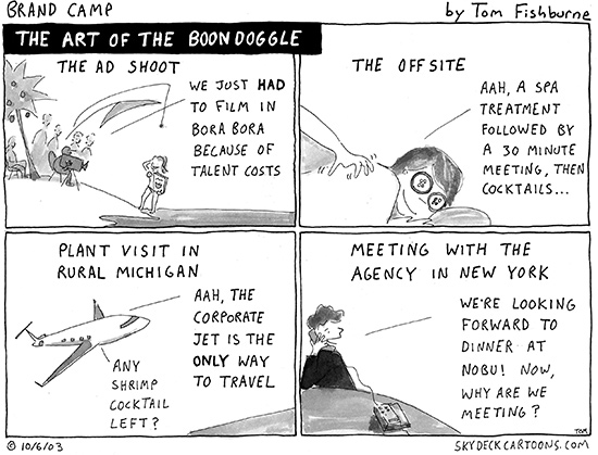 the art of the boondoggle