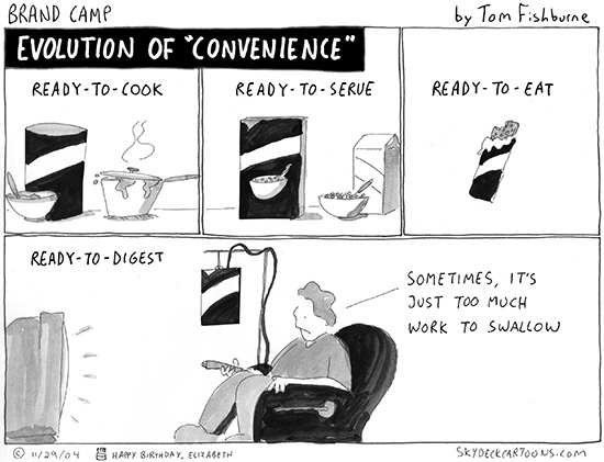 evolution of convenience