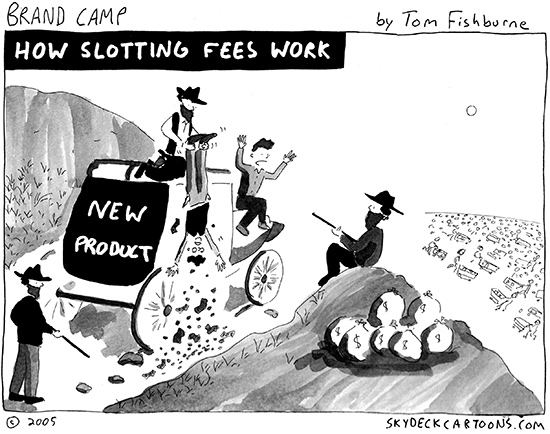 how slotting fees work