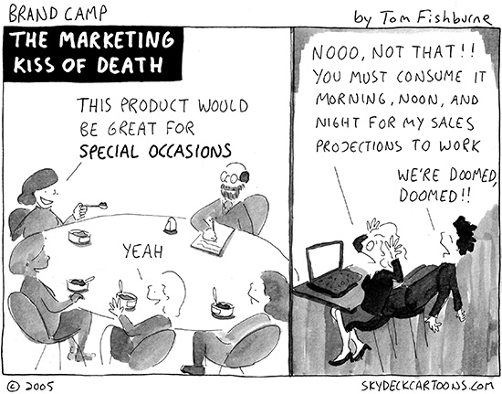 the marketing kiss of death