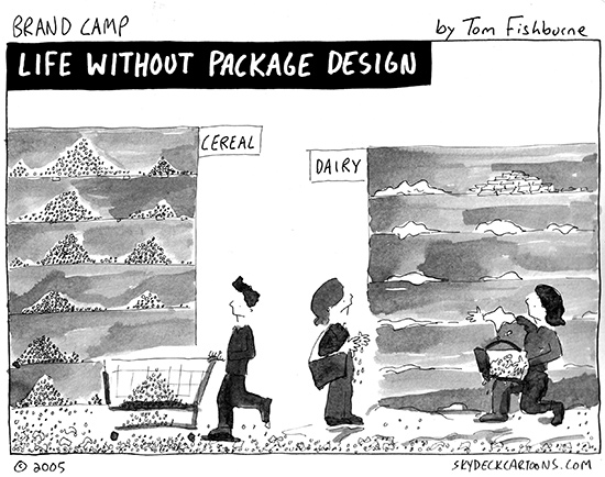 life without package design