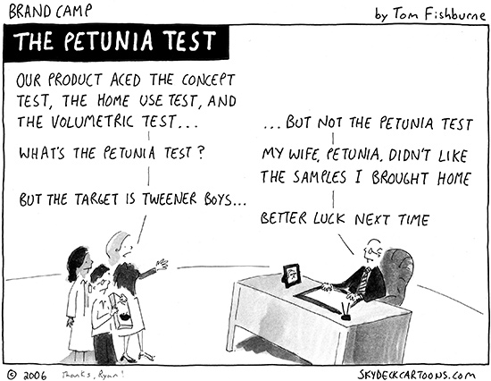 the petunia test