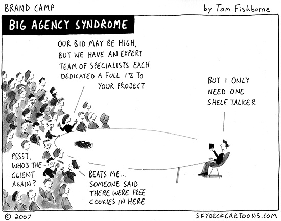 big agency syndrome